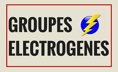 Groupes Electrogènes