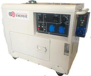 groupe électrogène diesel silencieux